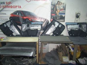 Шумоизоляция Skoda Octavia A7 StopShum