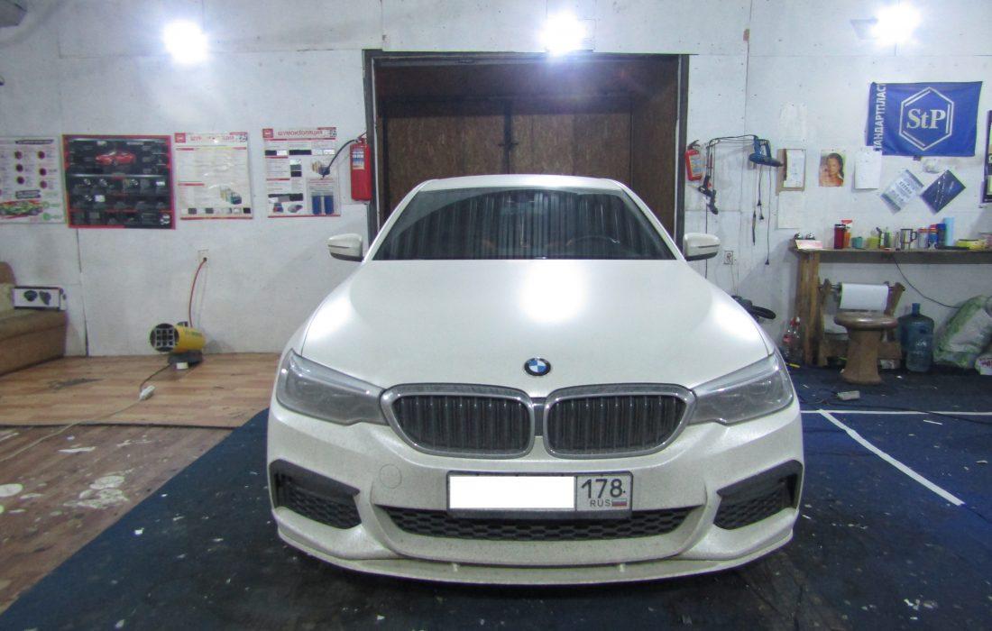 Шумоизоляция BMW 530M G30 Стопшум