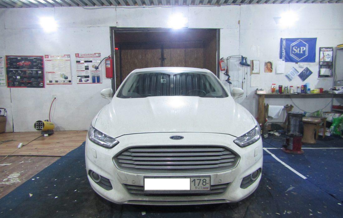 шумоизоляция Ford Mondeo 5 стоп шум