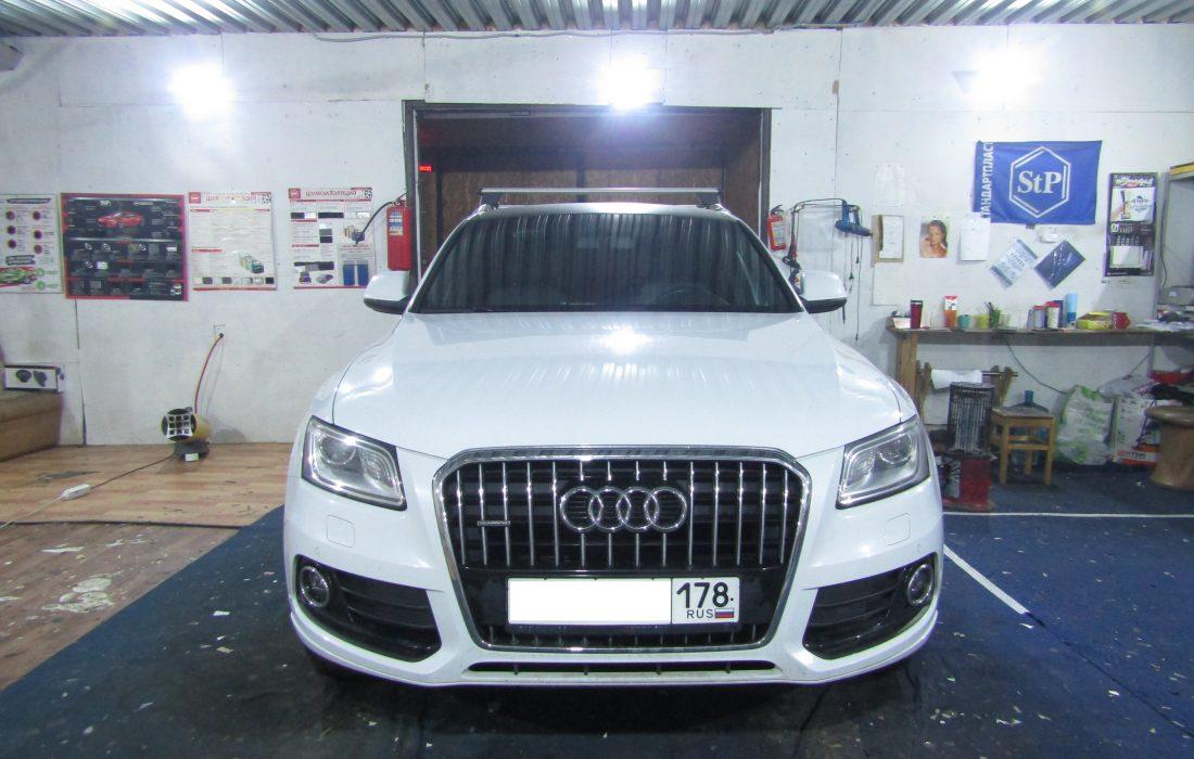 Шумоизоляция Audi Q5 Стопшум