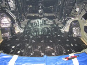 Шумоизоляция Mitsubishi Outlander StopShum