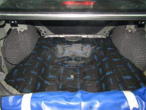 Шумоизоляция багажника Honda Civic Stopshum