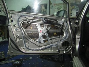 Шумоизоляция двери Honda Civic Stopshum