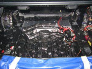 Шумоизоляция багажника Mercedes Benz W212