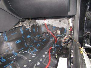 Шумоизоляция Mercedes Benz W212