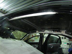 Шумоизоляция крыша Mercedes Benz W212
