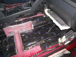 Шумоизоляция Volkswagen Tiguan II StopShum