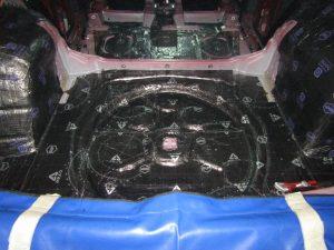 Шумоизоляция багажника Volkswagen Tiguan II StopShum