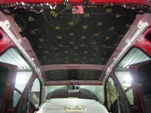 Шумоизоляция крыши Volkswagen Tiguan II StopShum