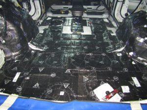 Шумоизоляция багажника Kia Sorento Prime StopShum