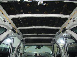 Шумоизоляция крыши Kia Sorento Prime StopShum