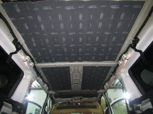 Шумоизоляция крыши Opel Zafira StopShum