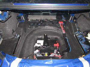 Шумоизоляция багажника Jaguar StopShum