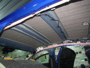 Шумоизоляция крыши Jaguar StopShum