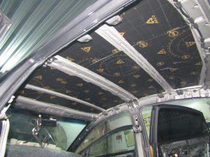 Шумоизоляция крыши Kia Rio StopShum