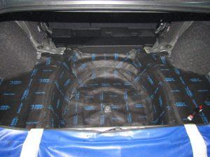 Шумоизоляция багажника Subaru StopShum