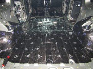 Шумоизоляция багажника Lada Largus StopShum