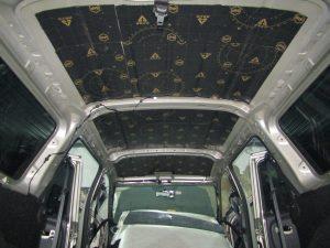 Шумоизоляция крыши Lada Largus StopShum
