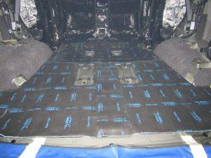 Шумоизоляция багажника Toyota Fortuner StopShum