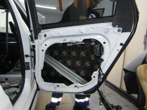 Шумоизоляция двери Volvo V90 Stopshum