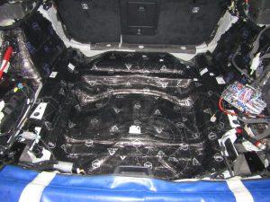 Шумоизоляция багажник  Volvo V90 Stopshum