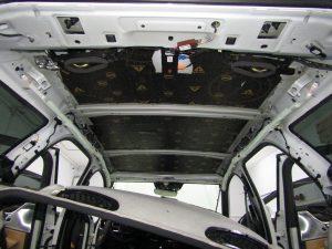 Шумоизоляция крыши Volvo V90 Stopshum
