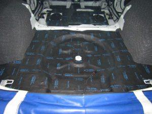 Шумоизоляция багажника Skoda Kodiaq StopShum