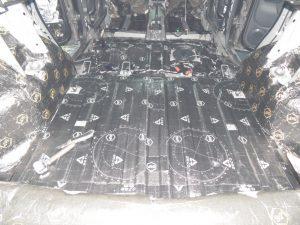 Шумоизоляция багажника Renault Duster StopShum