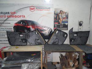 Шумоизоляция Renault Duster StopShum