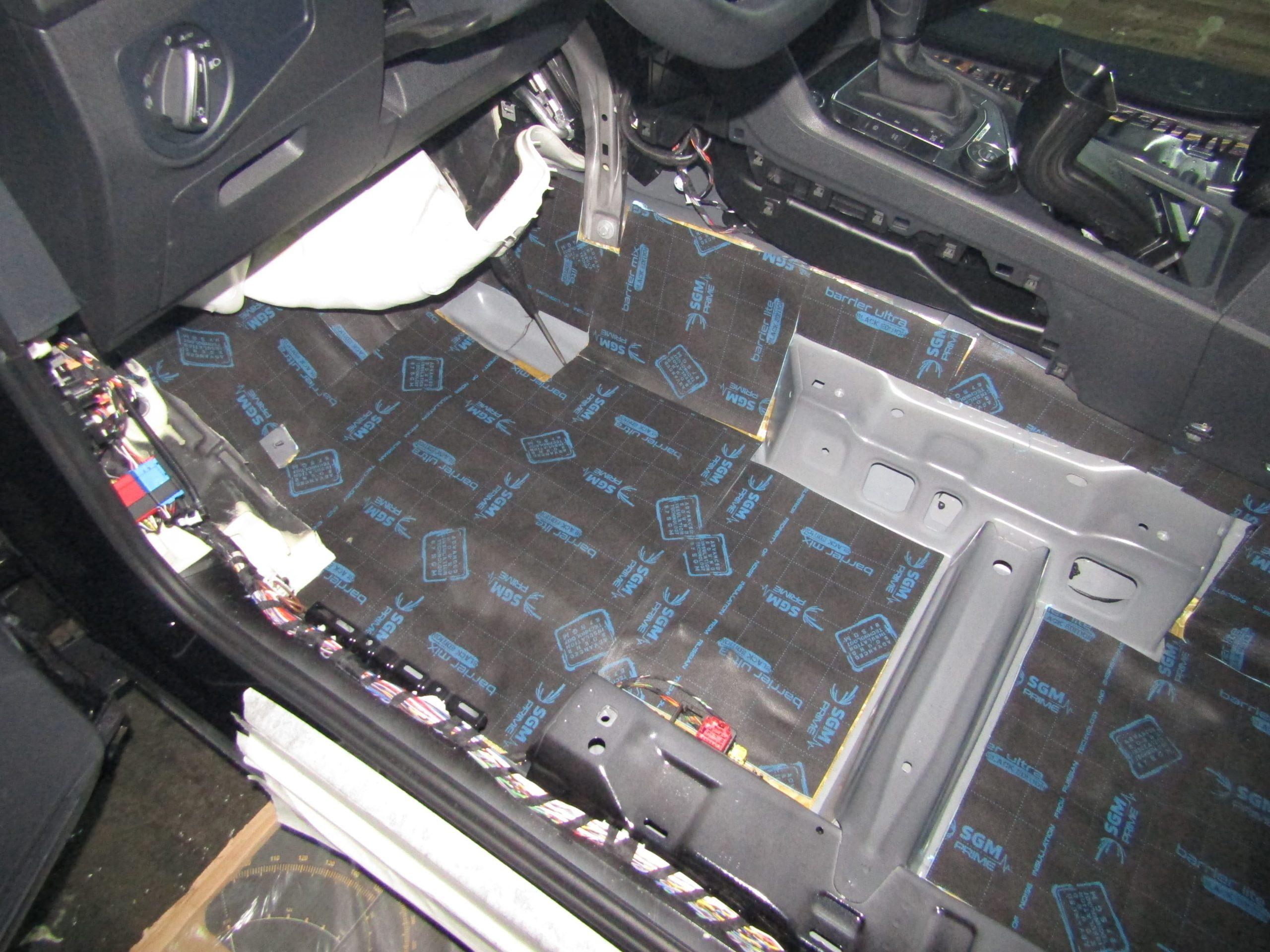 Шумоизоляция Volkswagen Tiguan Stopshum