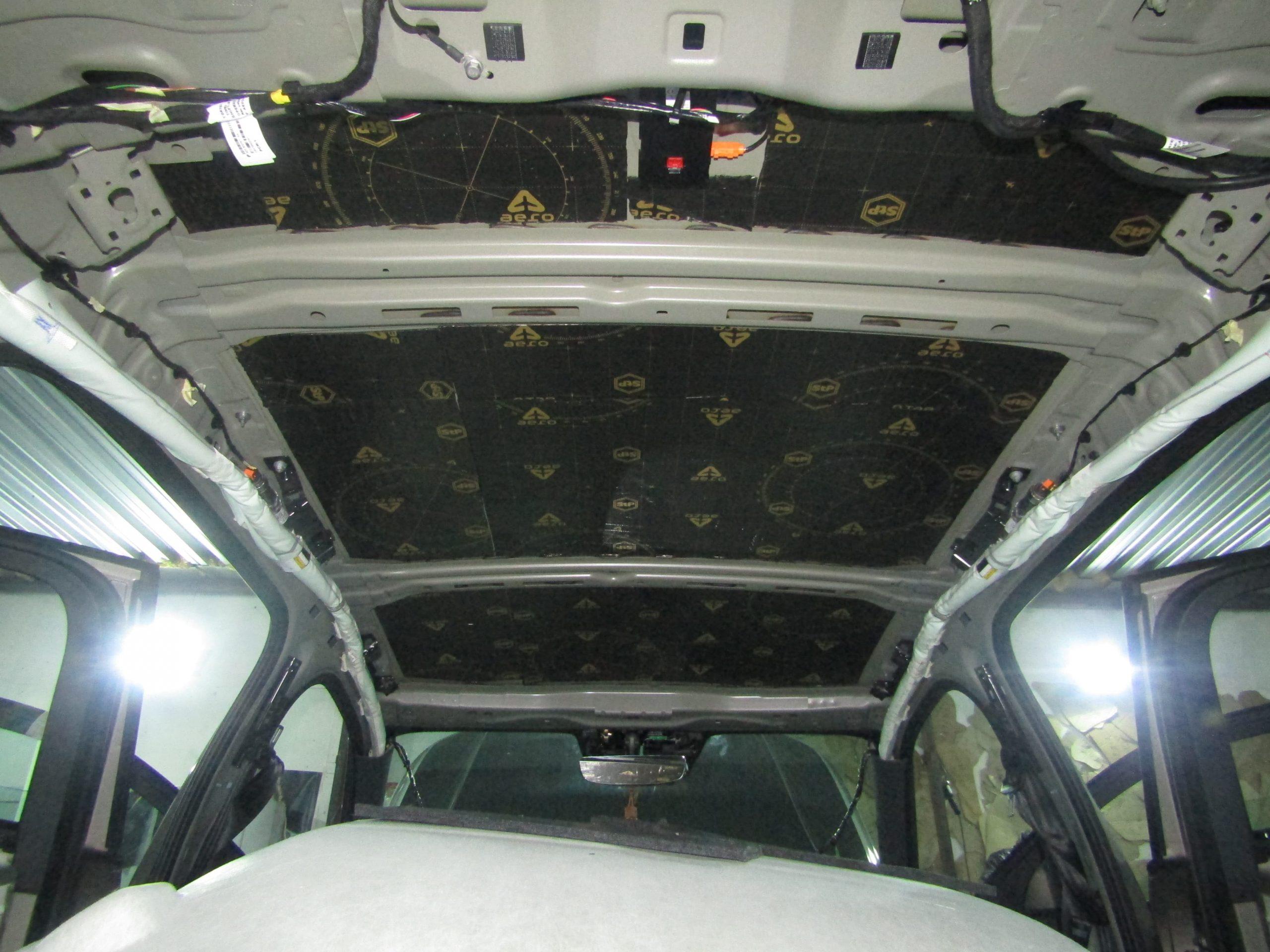Шумоизоляция Volvo Xc4o Stopshum