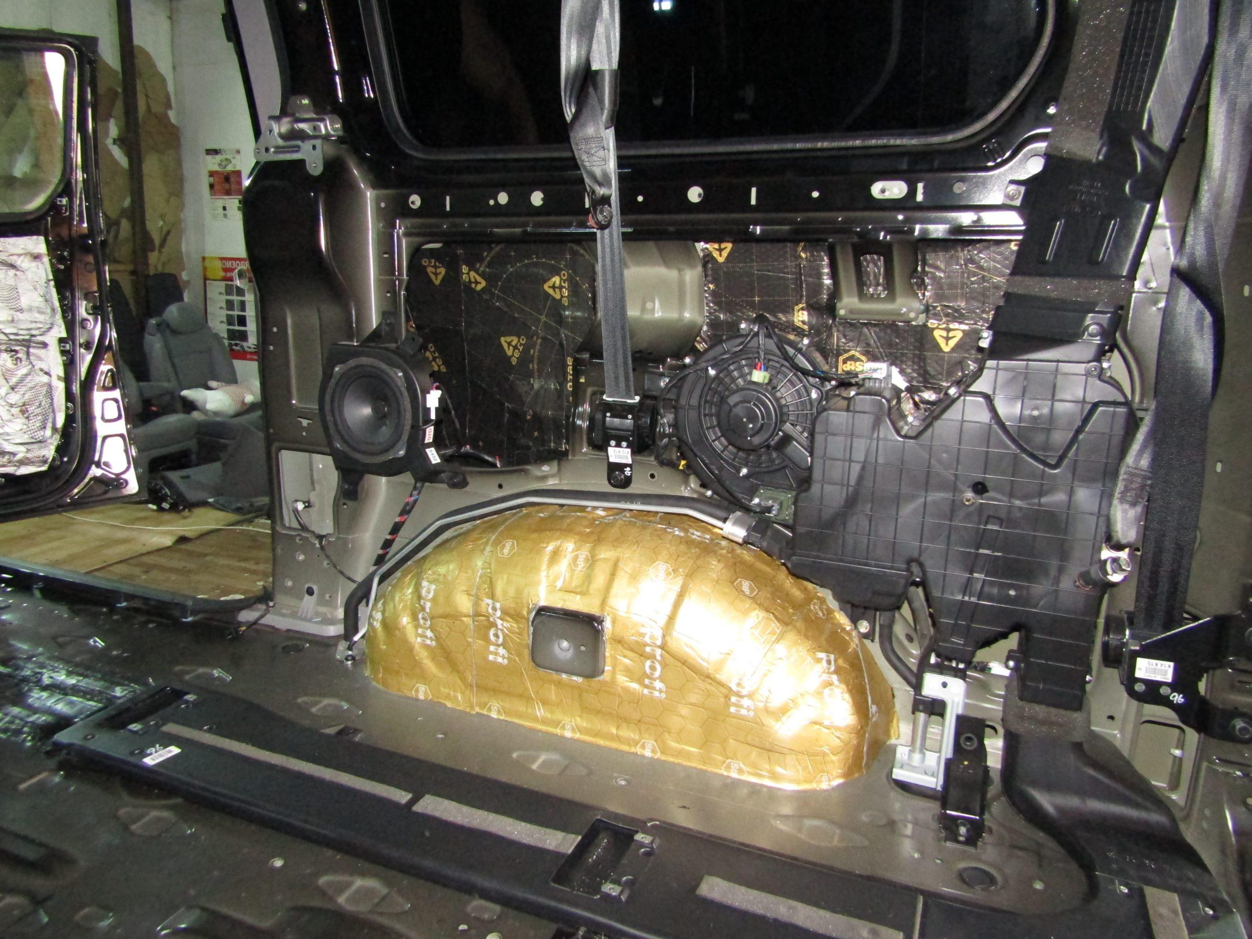Шумоизоляция Hyundai Starex Stopshum