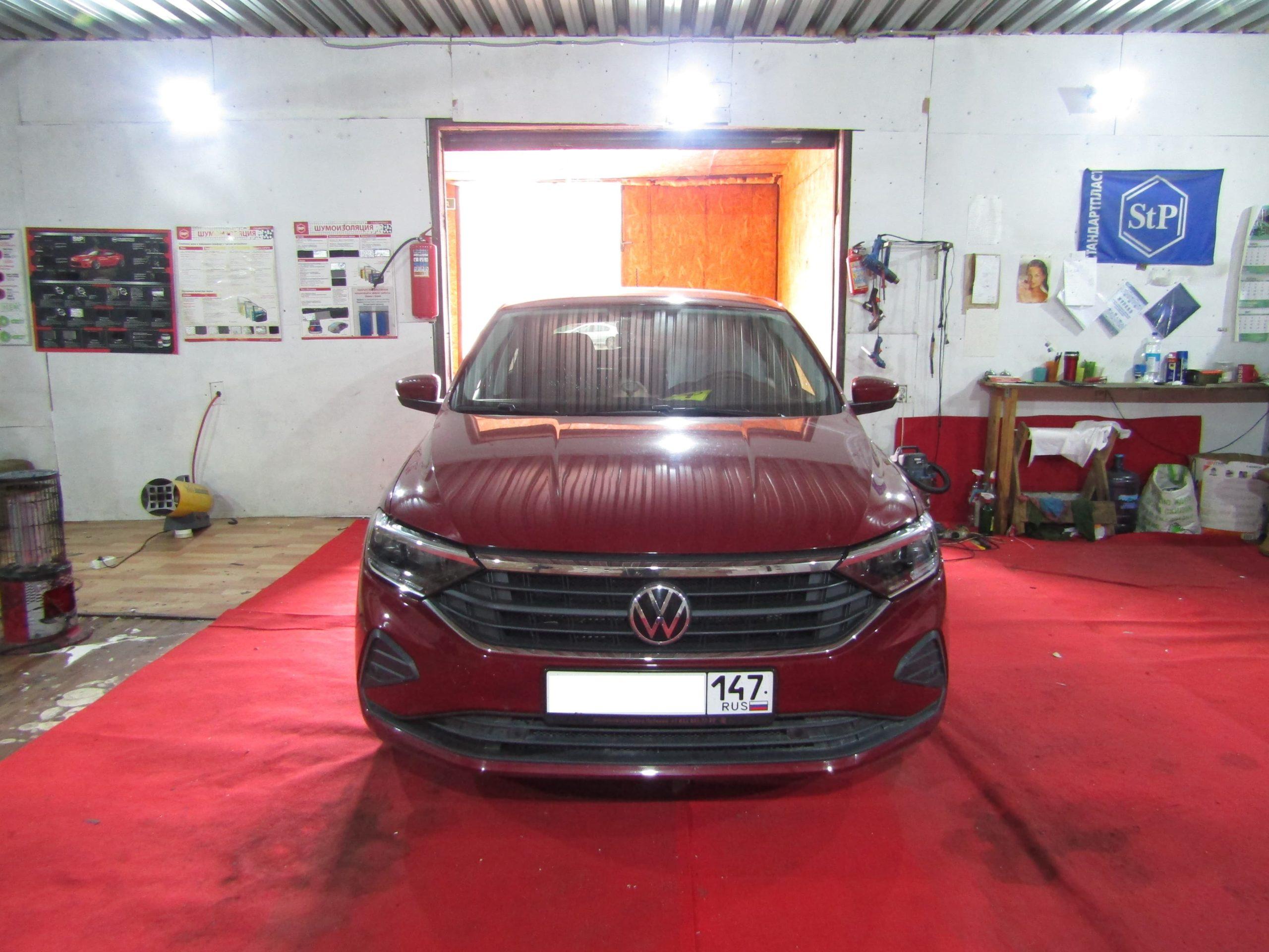 Шумоизоляция Volkswagen Polo Stopshum