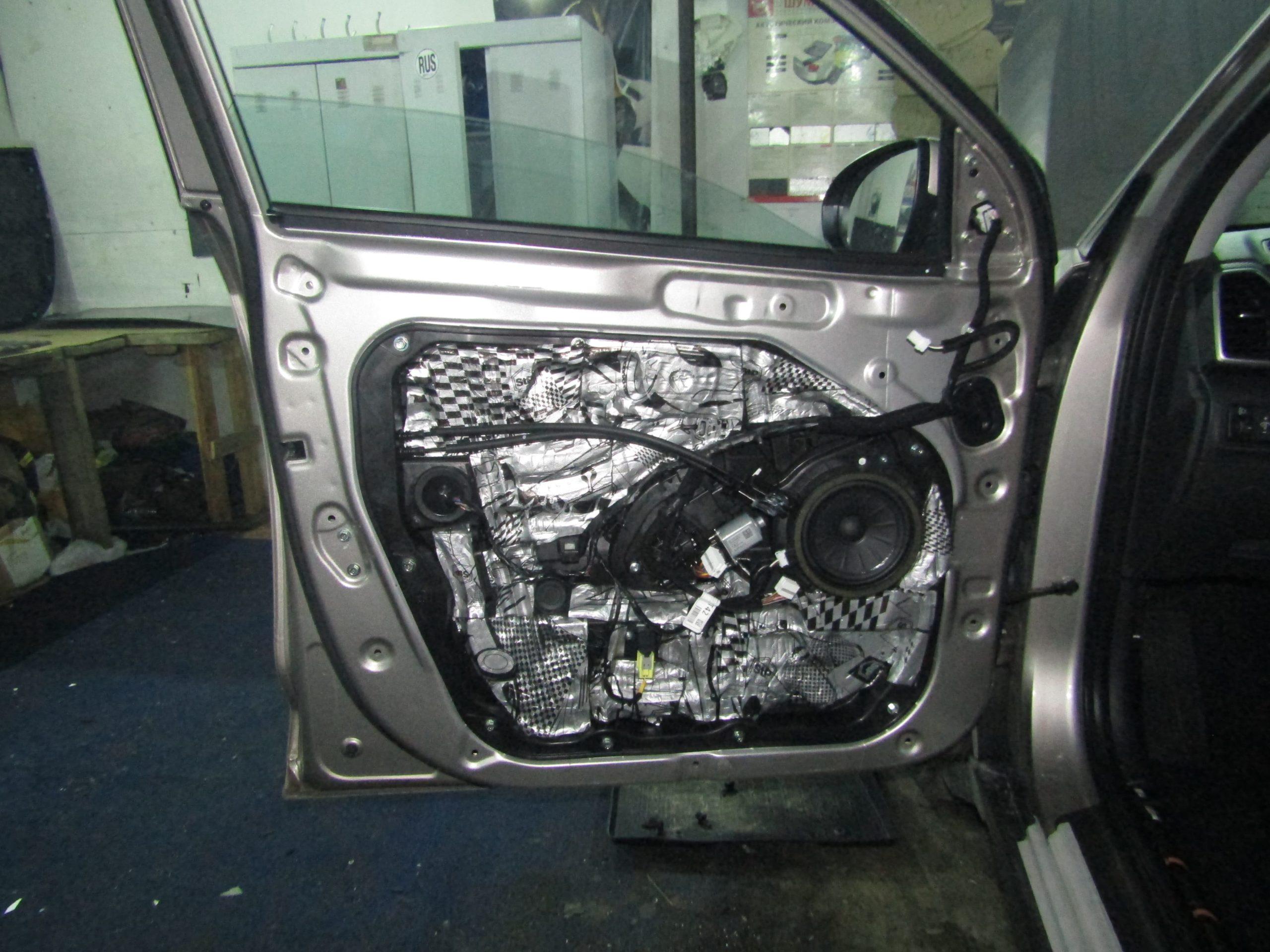 Шумоизоляция Hyundai Tucson Stopshum