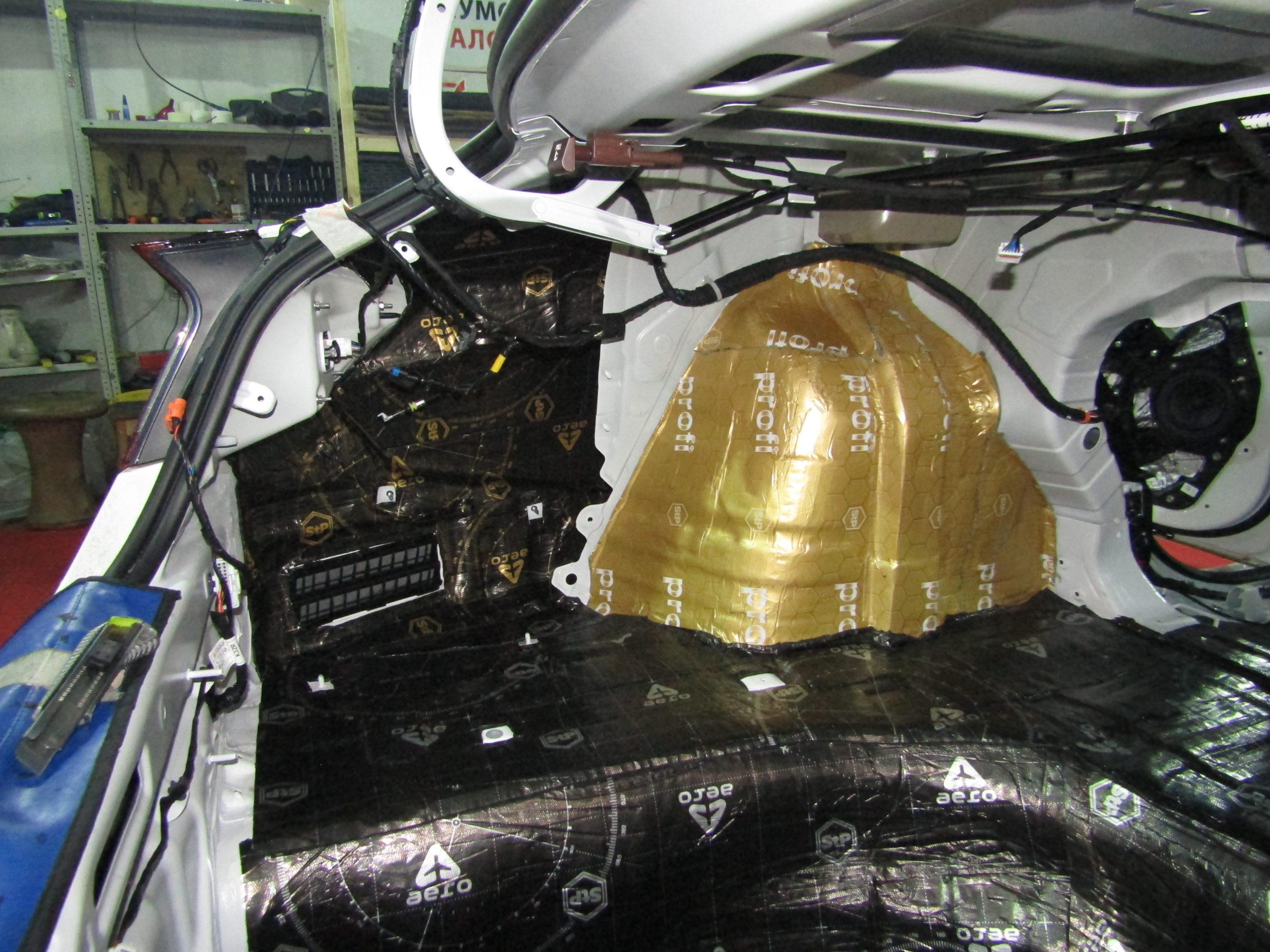 Шумоизоляция Hyundai Sonata 8 Stopshum