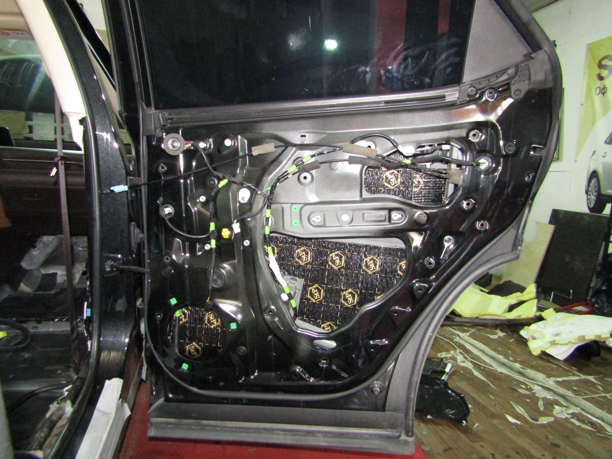 Шумоизоляция Lexus Rx 200t Stopshum