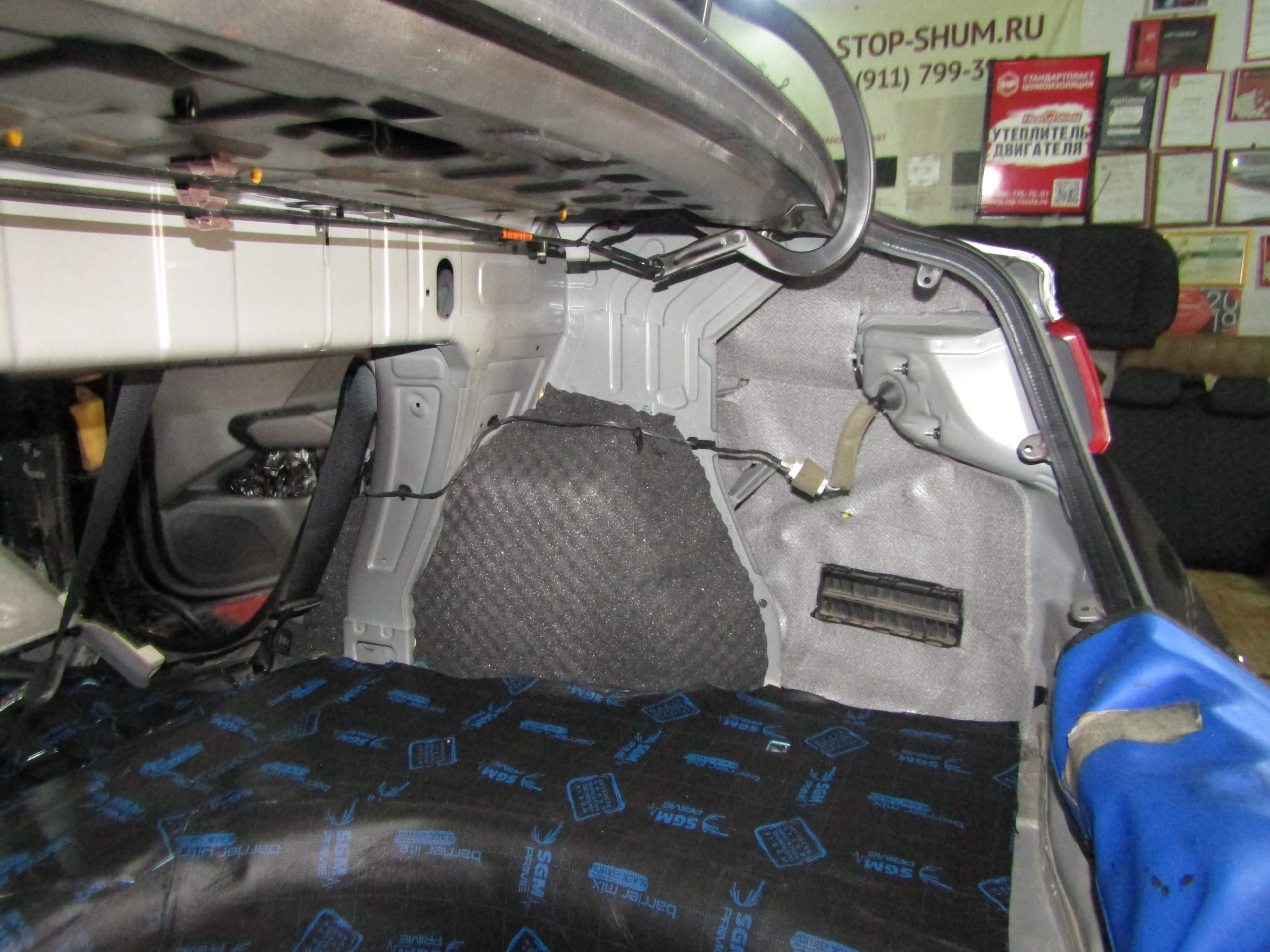 Шумоизоляция Hyundai Solaris Stopshum