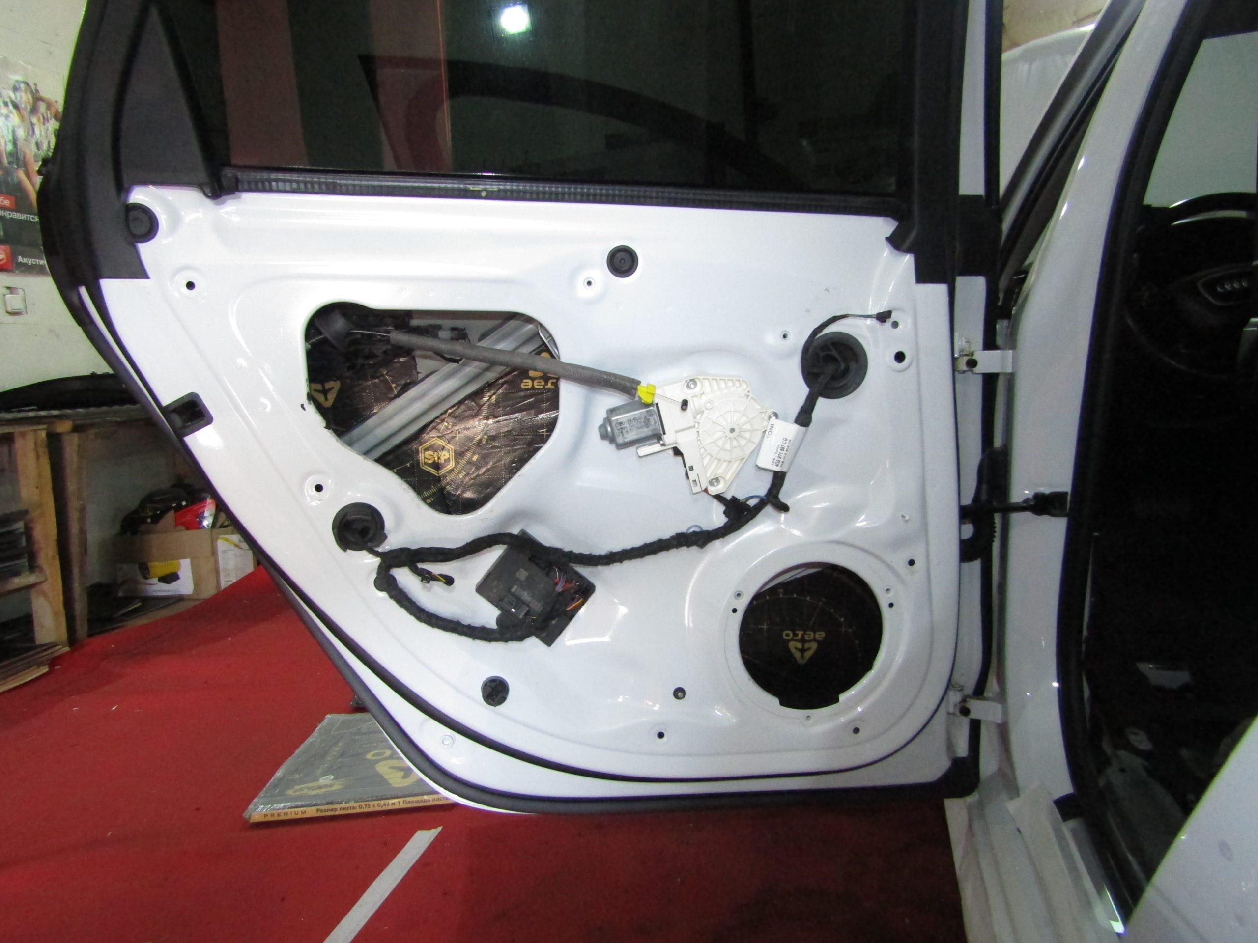 Шумоизоляция Audi A6 Stopshum
